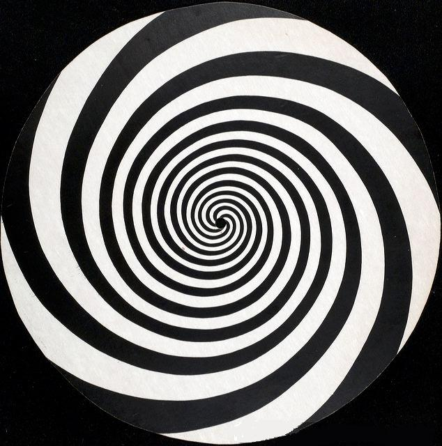 هیپنوتیزم پذیری دایره های چرخان