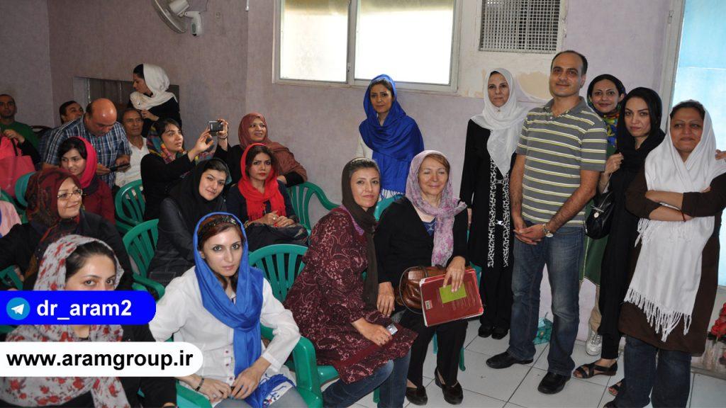دور همی موسسه تجسم خلاق1395 -دکتر آرام