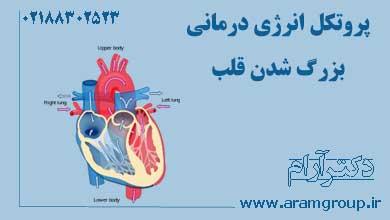 پروتکل انرژی درمانی بزرگ شدن قلب. دکتر آرام,تجسم خلاق,خلق آینده