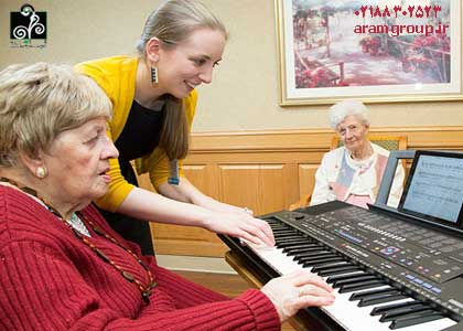 موسيقي و سالخوردگان. دکترآرام, تجسم خلاق, خلق آینده